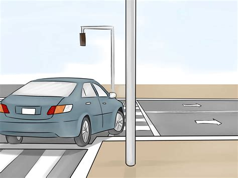 light right turn how to a right turn at a light 10 steps