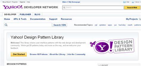 yahoo design pattern library stencils useful web development tools web development tools