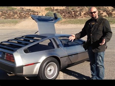 delorean dmc 12! looking back to the future the downs