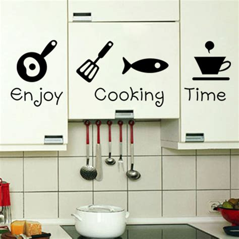 home decor sticker new design creative diy wall stickers kitchen decal home