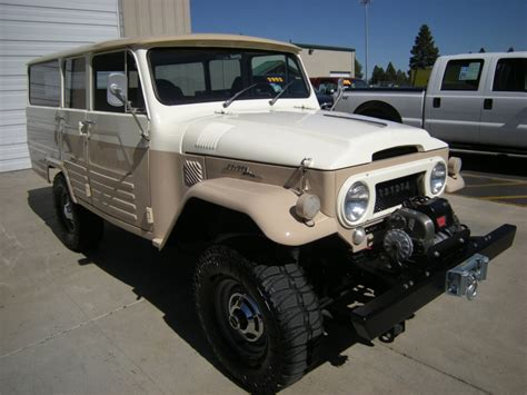 Toyota Fj45 For Sale Restored Toyota Land Cruiser Fj45lv Troopy For Sale