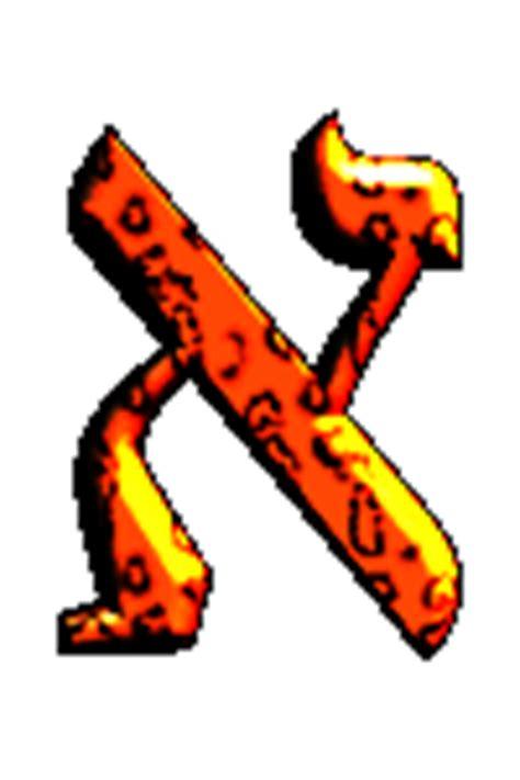 forma parole con queste lettere subito verde alfabeto ebraico alef dio unico ed eterno