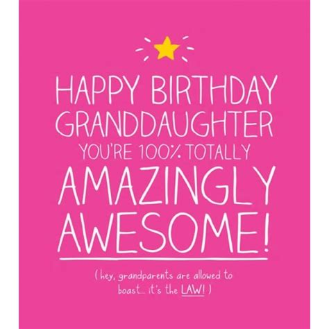 Granddaughter Birthday Card Granddaughter Birthday Cards From Postmark Online