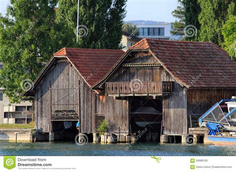 the old boat house old boat house on lake zug editorial stock photo image 56689158