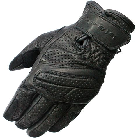 vented leather motorcycle black active leather short motorcycle gloves motorbike