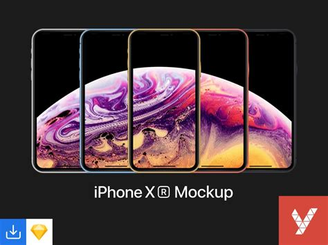 mockups gratuits iphone xs xs max  xr  telecharger