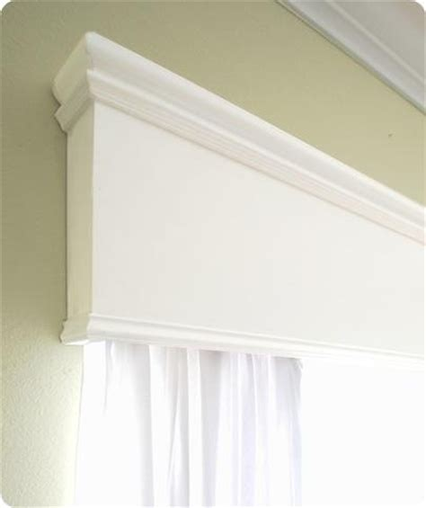 Crown Valance For Blinds Wood Window Cornice Diy My Favorite Pins Pinterest