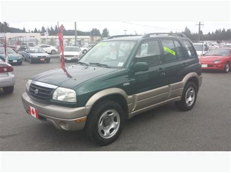 2002 Suzuki Suv 2002 Suzuki Grand Vitara 4x4 Suv Outside Comox Valley