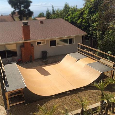 how to build a skatepark in your backyard would you like this r in your backyard skateboarding