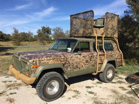 hunting jeep cherokee 75 jeep cherokee chief awd hunting rig sports outdoors