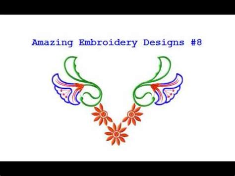 embroidery design youtube free embroidery designs amazing embroidery designs