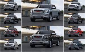 gmc truck colors 2016 gmc 1500 color options
