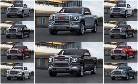 2015 gmc colors 2015 gmc truck colors autos post