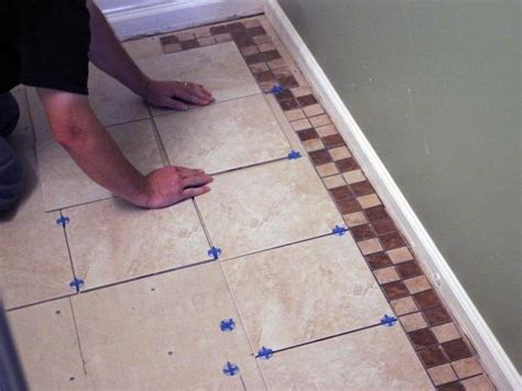 how to tile a floor how to install bathroom floor tile how tos diy