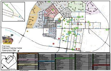 fort irwin map gis overview u s army national center fort