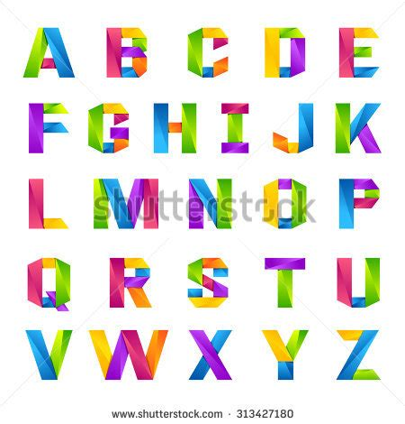 Sticker Buchstaben Bunt by English Alphabet Stock Images Royalty Free Images