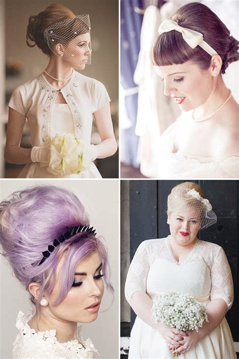 Vintage Wedding Hair With Fringe by Retro Chic 28 Vintage Wedding Hair Ideas Onefabday