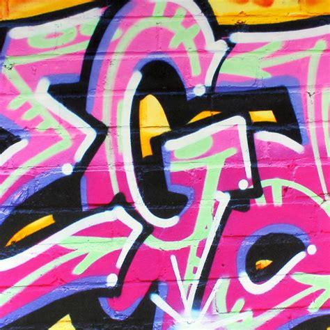 graffiti wall stickers personalised personalised pink graffiti wall stickers by nest