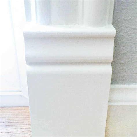 add  plinth block  door trim   finished