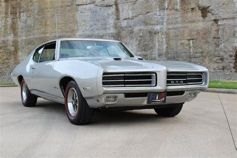 Iridium Silver Metallic 1969 Pontiac Gto For Sale   MCG