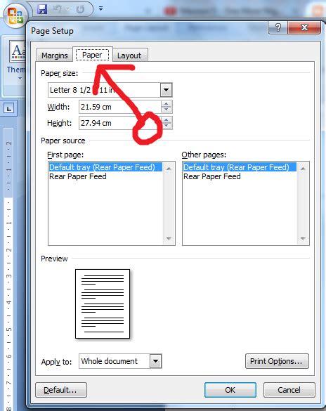 menu layout adalah panduan sederhana microsoft office 2007 cara setting
