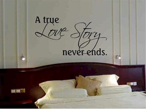 bedroom quotes items similar to wall quote sticker decal a true story never ends bedroom wall quote