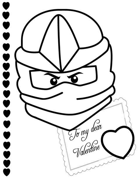 ninjago valentine coloring pages ninjago zx to my valentine coloring page h m coloring