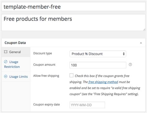create a coupon template free create a coupon generate monthly woocommerce subscriptions coupons with