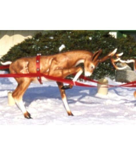 fiberglass 12 reindeer fiberglass fawn reindeer all american co