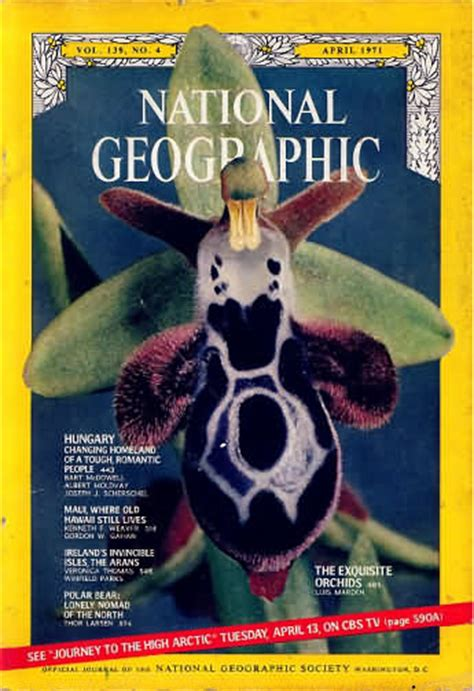 National Geographic 1971 Jual Satuan backissues national geographic april 1971 product details