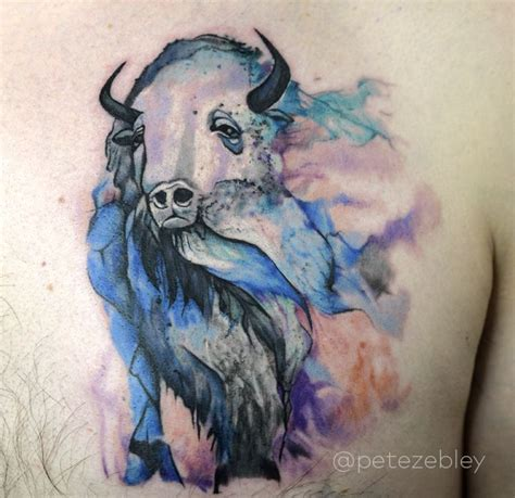 white buffalo tattoo 25 best ideas about buffalo on bison