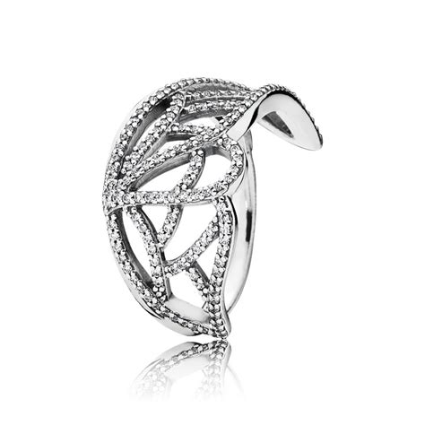 butterfly wing silver ring with cubic zirconia pandora australia outlet store