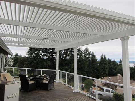Patio Covers Washington State American Louvered Roofs Patio Covers Lake Forest Park