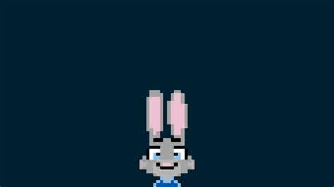 judy hopps pixel art pixels zootopia wallpapers hd