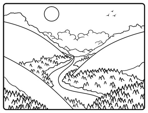 Of The Valley Drawing