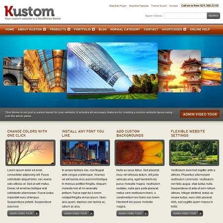 download themes themeforest free kustom wordpress theme by themeforest free download