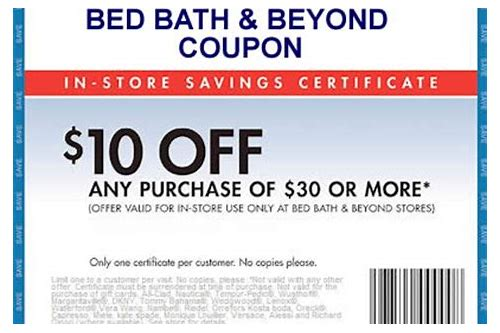 mobile bed bath and beyond coupon 2018