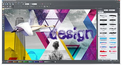 layout photo editing xara photo graphic designer edit pictures