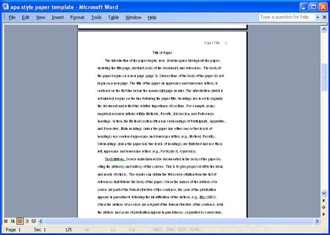 apa essay template apa paper writers