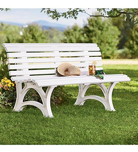 white resin outdoor benches german made weatherproof resin garden bench white