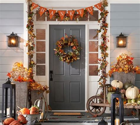 home decor pottery barn harvest home d 233 cor wreath pottery barn