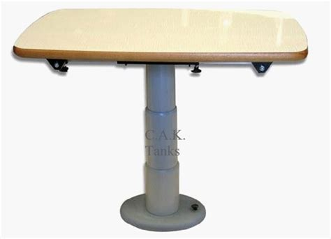 telescoping table telescopic table support type a manual