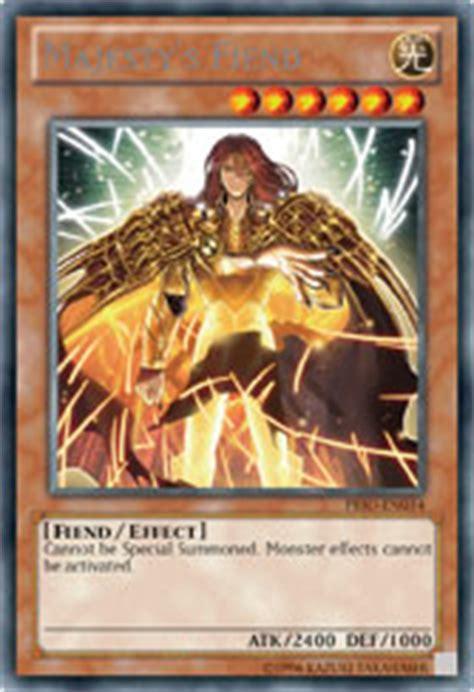 Vanitys Fiend by Yu Gi Oh Trading Card 187 Majesty S Fiend