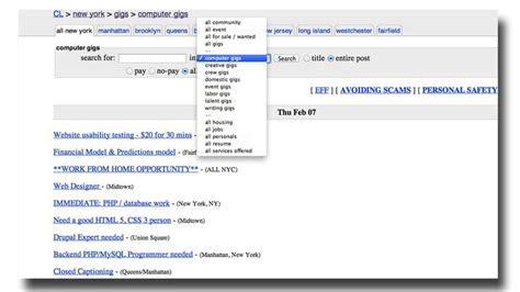 craigslist barter section 8 things you didn t know you could do on craigslist