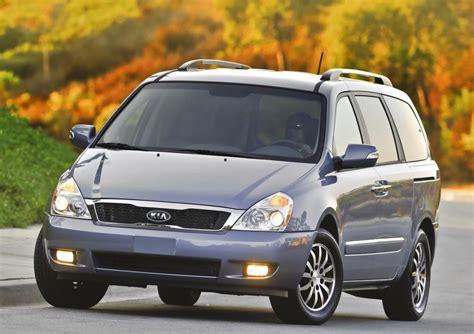 kia sedona minivan won t return for 2013 2014 replacement