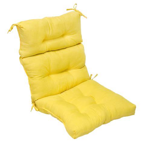 Patio High Back Chair Cushions Greendale Home Fashions Outdoor High Back Chair Cushion Sunbeam Outdoor Living Patio