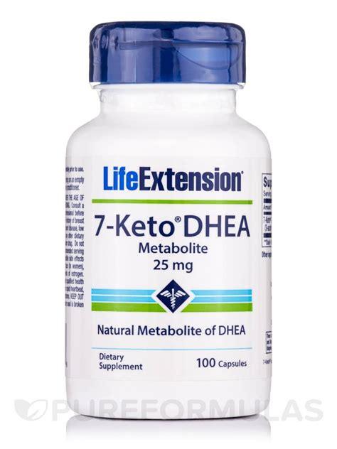 Extension 7 Keto Dhea Metabolite 100mg 60 Caps 7 keto dhea metabolite 25 mg 100 capsules