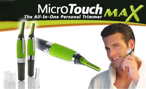 Micro Touch Magic Max Hair Groomer Pisau Cukur micro touch max multi function trimmer shaver for 11street malaysia