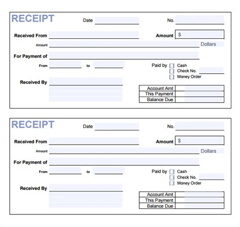 template of receipt of payment best photos of payment receipt template word payment