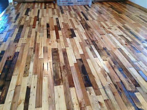 Diy Wood Flooring by Diy Pallet Flooring Home Design Garden Architecture Magazine